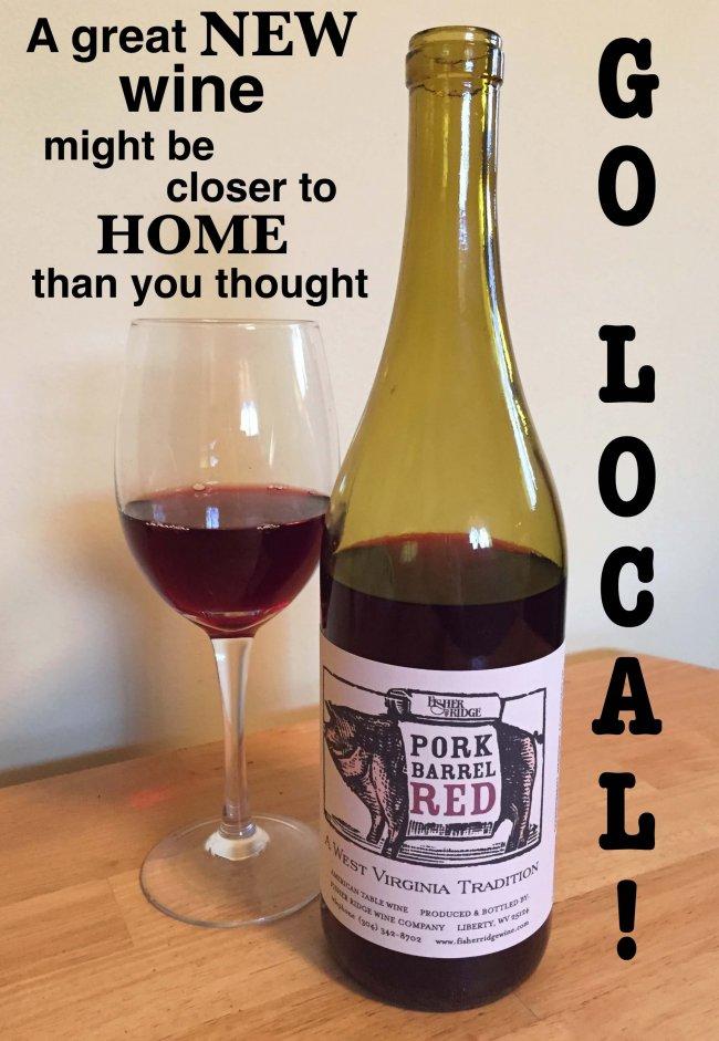 Fisher Ridge Pork Barrel Red West Virginia wine tasting notes
