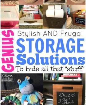 "Genius Storage Solutions to Hide ""Stuff"" in Plain Sight"