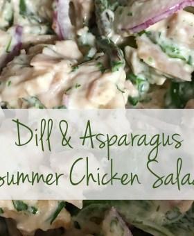 Dill & Asparagus Summer Chicken Salad Recipe