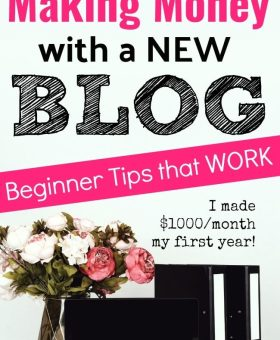 How to Start Making Money Blogging (Even as a Beginner)