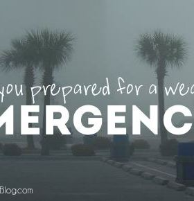Your Weather Emergency and Hurricane Preparedness Checklist