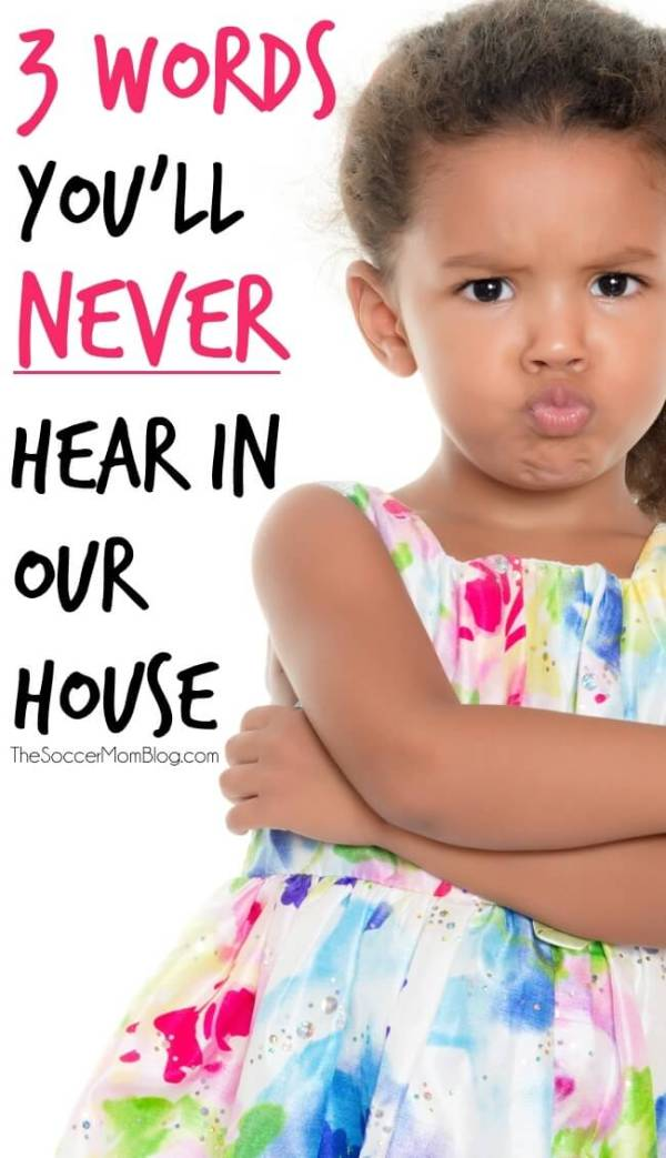 "Why I am confident that my young girls won't say ""I hate you."" Real-Iife tips to encourage positive communication with your kids. TheSoccerMomBlog.com"