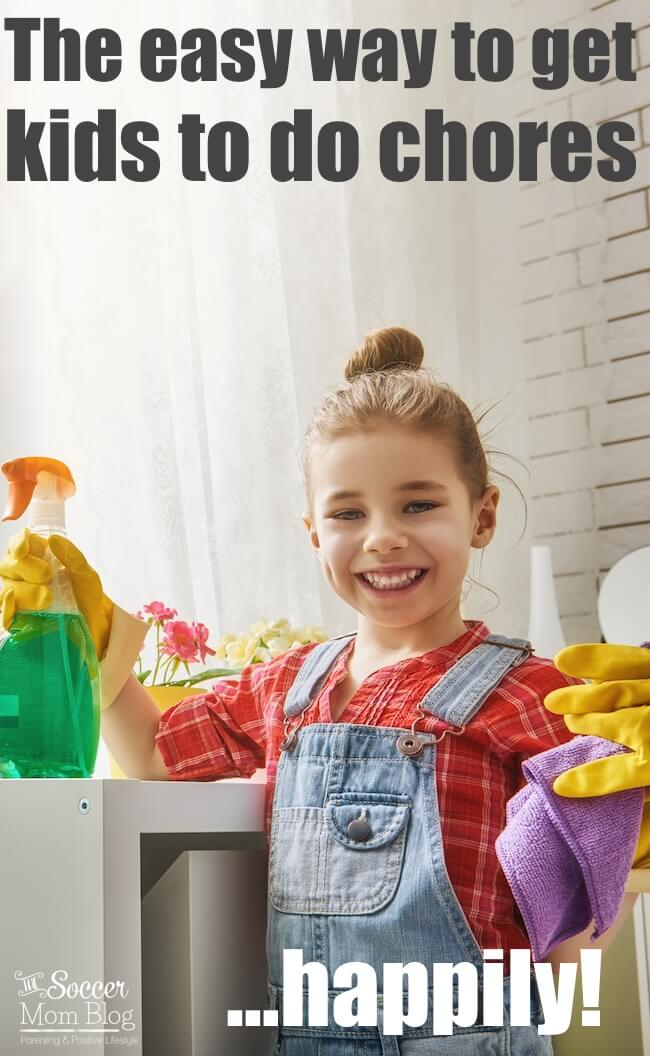 Positive Parenting tips: how to get your kids to WANT to do chores WITHOUT bribes and punishment