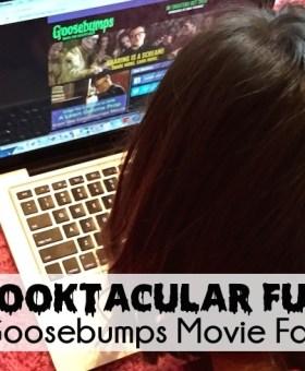 Spooktacular Fun in the Goosebumps Movie Fan Zone