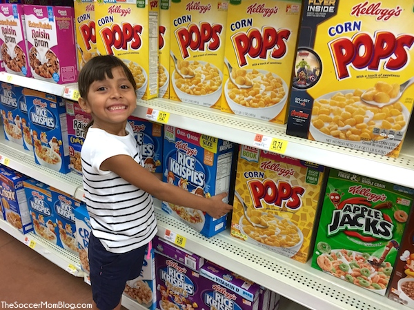Get #Back2SchoolReady with Kellogg's and earn free Scholastic Books! #ad