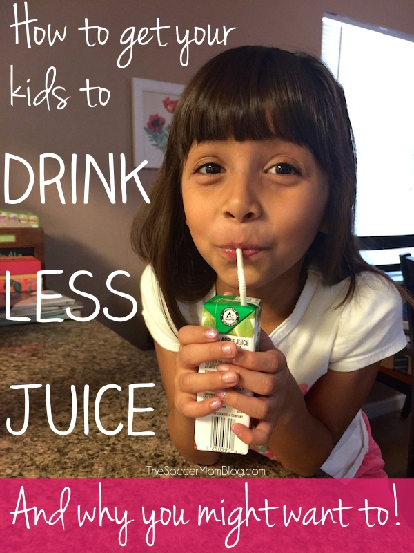 Tips for getting your kids to drink less juice and make healthier choices - happily!