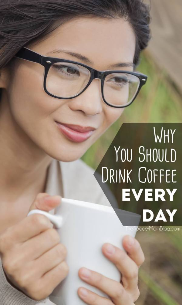 For my fellow coffee addicts: I did a little research to find out the health benefits of coffee. It's good news, so drink up!!