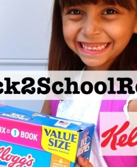 Get #Back2SchoolReady and Earn Free Books with Kellogg's