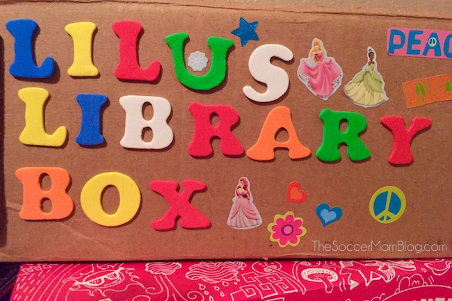 One simple hack to make sure you never lose another kids library book again -- why didn't I think of this sooner?!