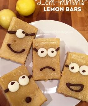 """Lem-minions"" Luscious Gluten Free Lemon Bars"