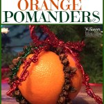 Fragrant Orange Pomander Ornaments