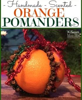Fragrant Orange Pomander Ornaments