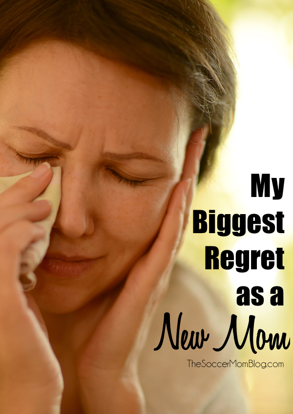 What I regret as a new mom is one that is likely shared by many other moms. Why it is so important to share our stories so we can't be ignored any longer.