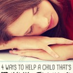 4 Ways to Help a Child Struggling with Homework