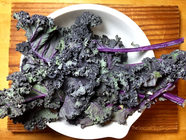 Purple Kale and Pansy Salad | The View from Great Island
