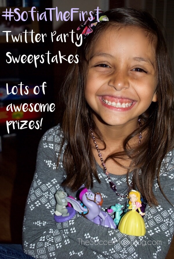 Enter to win over $1000 of awesome prizes including VISA gift cards and the new Sofia the First interactive toys!