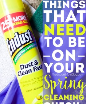 10 Things to Have on Your Spring Cleaning Checklist