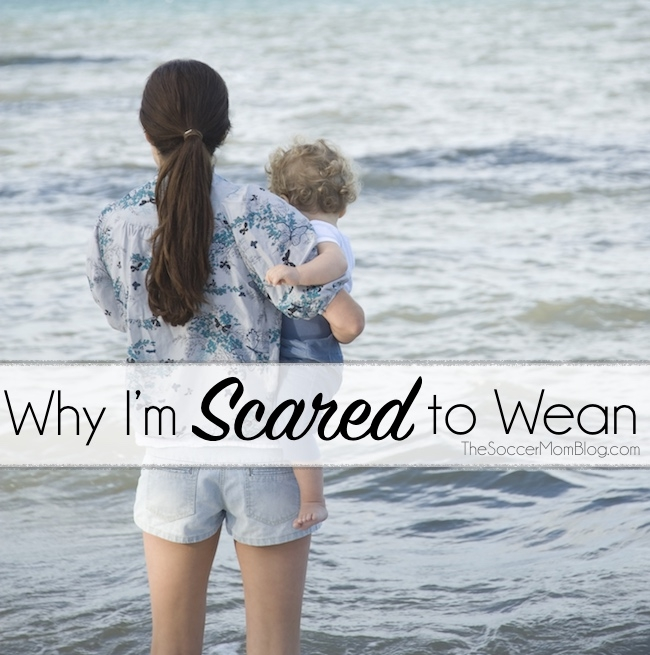 """I've been looking forward to """"reclaiming my boobs,"""" but as the time grows nearer, I actually find myself scared to wean! Here's why:"""