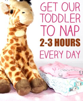 Toddler Nap Routine for 2-3 Hour Naps Every Day