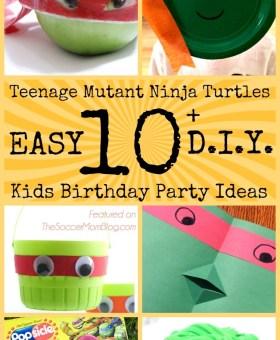 Teenage Mutant Ninja Turtles Birthday Party Ideas for Kids