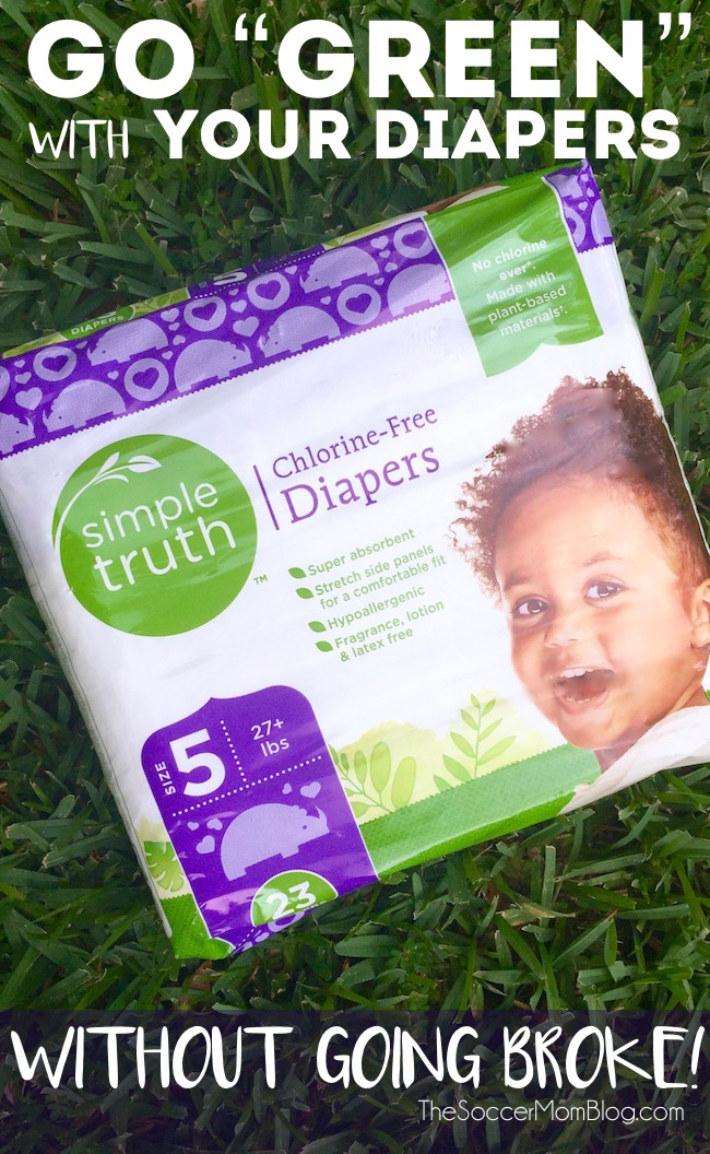 "I always thought that organic diapers were out of the budget, until I did a price comparison and saw the surprisingly ""simple truth!"""