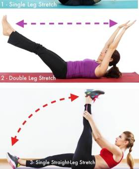 Pilates Series of Five – 5 Minute Ab Workout