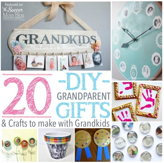 What do you give the person who already has everything they need? Finding meaningful grandparent gifts can be a challenge...so why not make them instead! These meaningful handmade crafts will be treasured forever!