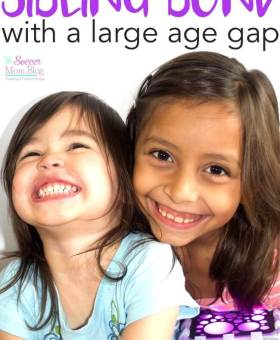 Sibling Age Gap: 3 Ways to Build a Bond When They're Years Apart