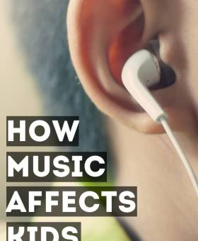 How Music Affects Children's Brains