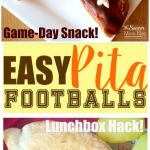 Easy Pita Football Appetizer