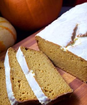 Gluten Free Pumpkin Bread (Better than Starbucks!)