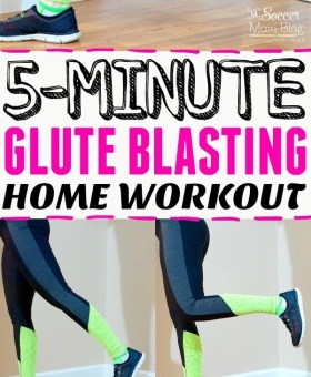 5-Minute Glute Toning Workout