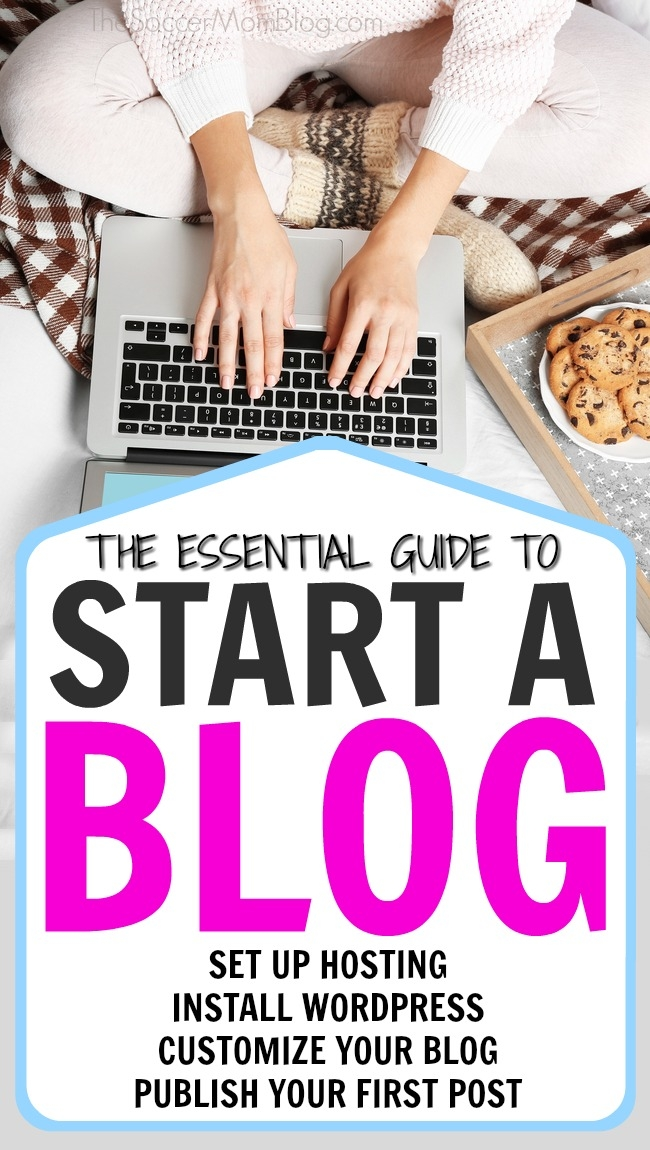 """Step-by-step guide to set up a WordPress blog FAST! Topics include: web hosting, customizing your site, writing your first post & bonus """"secrets"""""""
