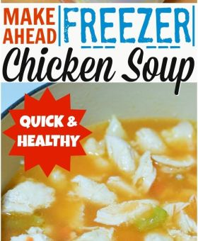 Easy Freezer Chicken Soup Base