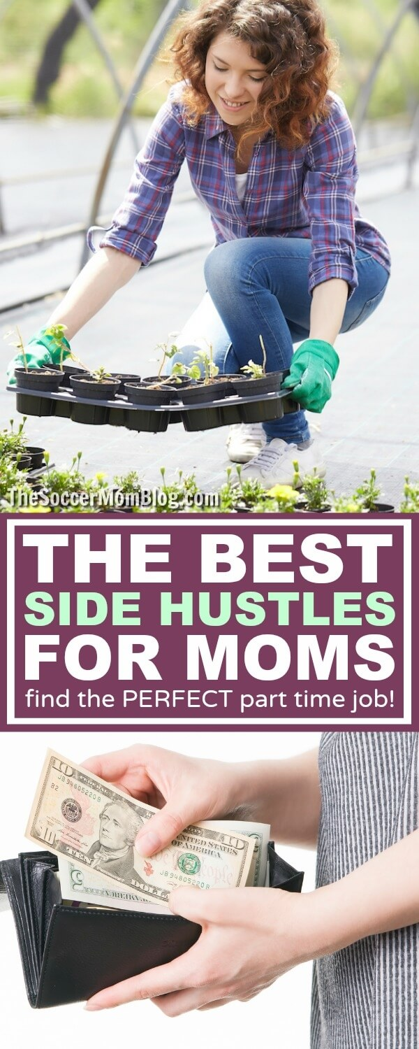 Why side hustles are the ultimate solution for moms -- How to find the right part time job to earn extra money for you and your family.