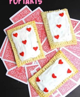 """Queen of Hearts"" Homemade Strawberry Pop Tarts"