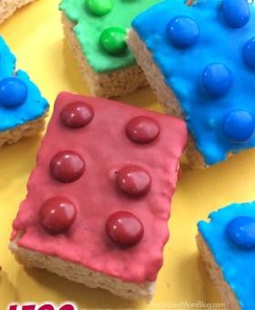 LEGO Rice Krispie Treats