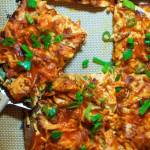 Zesty Buffalo Chicken Pizza with Sweet Potato Crust