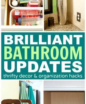 Beautiful Bathroom Update — in a Day
