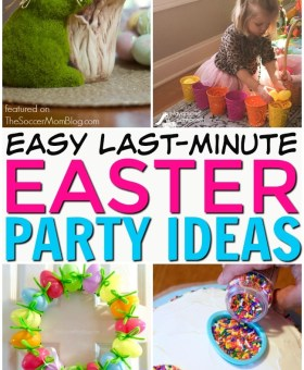 Easy Last-Minute Easter Party Ideas