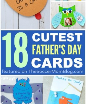 18+ Cutest Kid-Made Father's Day Cards