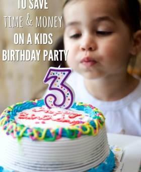 5 Time-Saving Kids Birthday Party Hacks