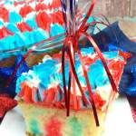 Red White & Blue Jello Poke Cake Recipe