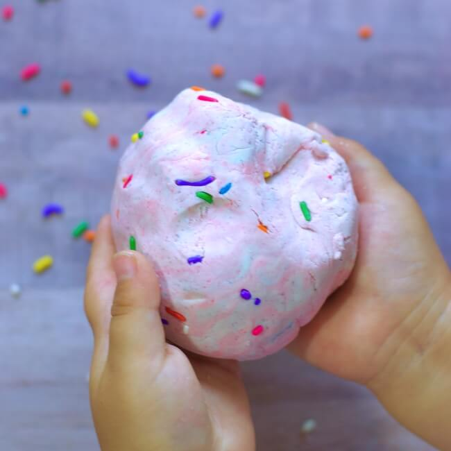 how to make slime with kitchen ingredients