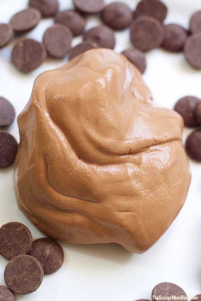 how to make edible chocolate slime for kids