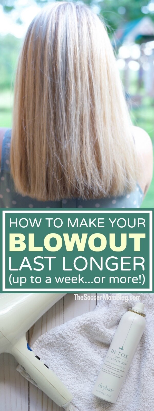 With these 6 hair hacks you'll be able to go longer between washes, keep your hair healthier, and make your blowout last longer, and be styled in seconds!