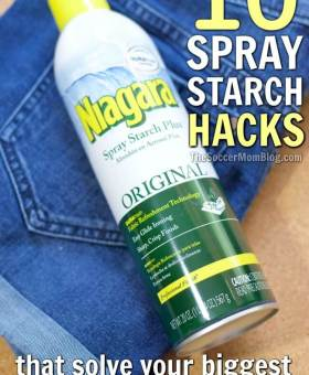 10 Genius Spray Starch Hacks to Solve Your Household Pet Peeves
