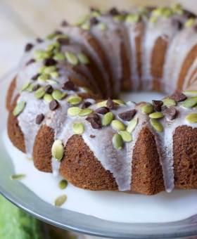 The BEST Gluten Free Zucchini Cake