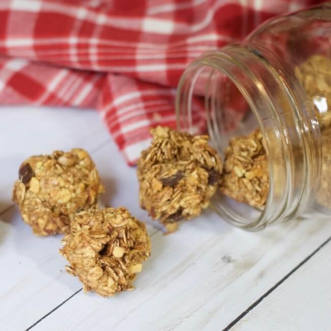 3-Ingredient Chocolate Peanut Butter Protein Balls (Gluten Free)