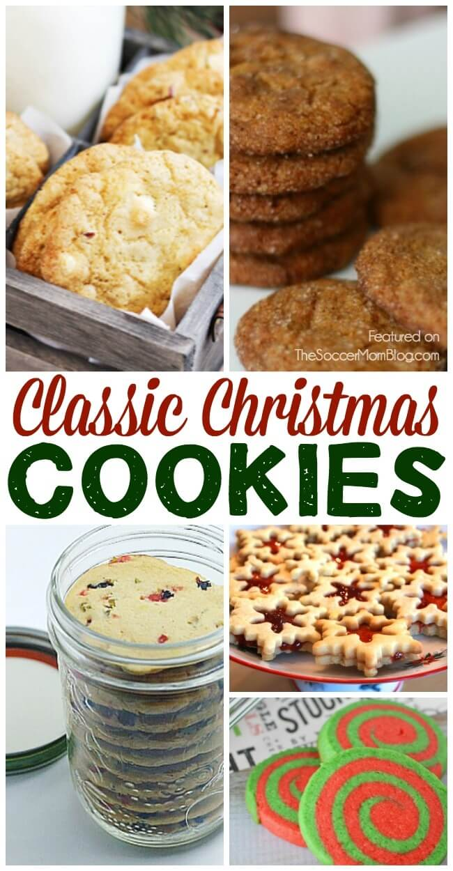 Classic Christmas cookies recipes - family favorites passed down from Grandma
